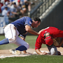 Pujols homers, Trout triples but Rangers beat Angels 15-8 The Associated Press