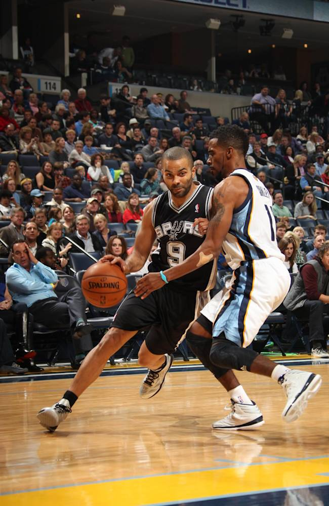 Parker scores 20, Spurs top Grizzlies 102-86