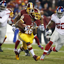Morris' TD helps Skins lead Giants 7-0 after 1 Qtr The Associated Press