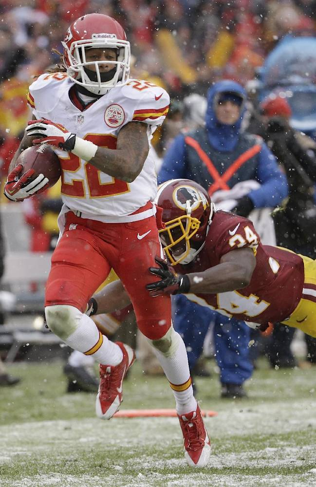 Chiefs WR McCluster ruled out for Oakland game