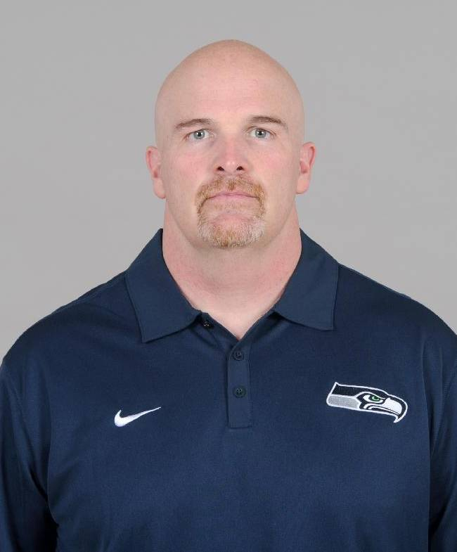 This is a 2013 photo of Dan Quinn of the Seattle Seahawks NFL football team. This image reflects the Seattle Seahawks active roster as of Thursday, May 9, 2013 when this image was taken. (AP Photo)