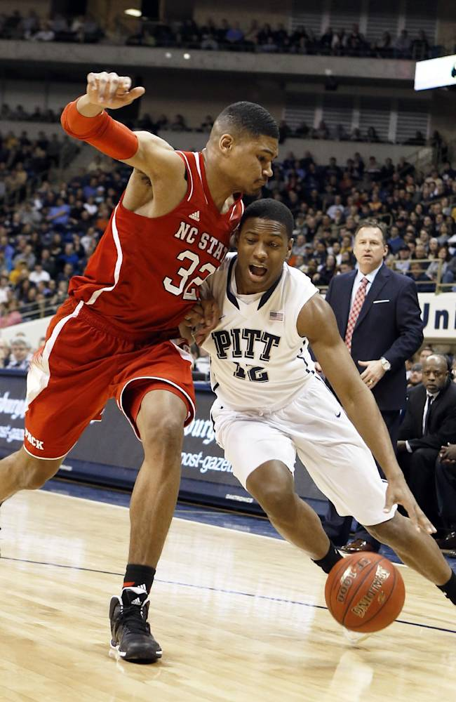 Warren leads NC State by Pittsburgh 74-67