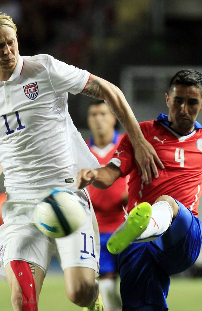 US fades in 3-2 loss at Chile, extends winless streak to 5