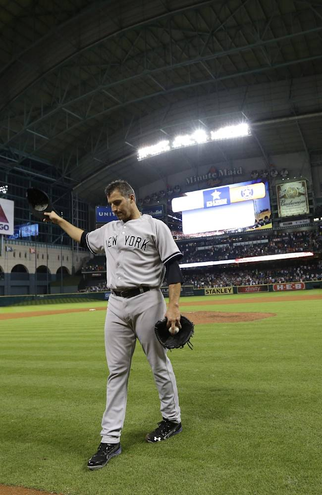 Pettitte completes career in fitting fashion
