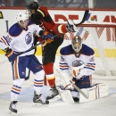 TJ Brodie scores in Flames' split-squad win The Associated Press
