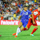 IMAGE DISTRIBUTED FOR INTERNATIONAL CHAMPIONS CUP - Chelsea's Ruben Loftus-Cheek controls the ball during the Chelsea FC vs. Liverpool FC match of the International Champions Cup at the Rose Bowl in Pasadena, Calif., Wednesday, July 27, 2016. (Carlos