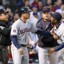 Bourn suspended 1 game for making contact with umpire The Associated Press