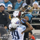 Titans cling to 10-7 lead over Jaguars at halftime The Associated Press