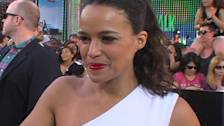'Fast and Furious 6' Premiere: Michelle Rodriguez 'Worked Really Hard' On Fight Scene With Gina Carano