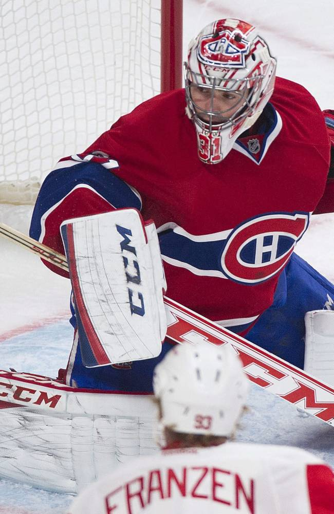 Gionta Scores 2 as Canadiens beat Red Wings, 5-3