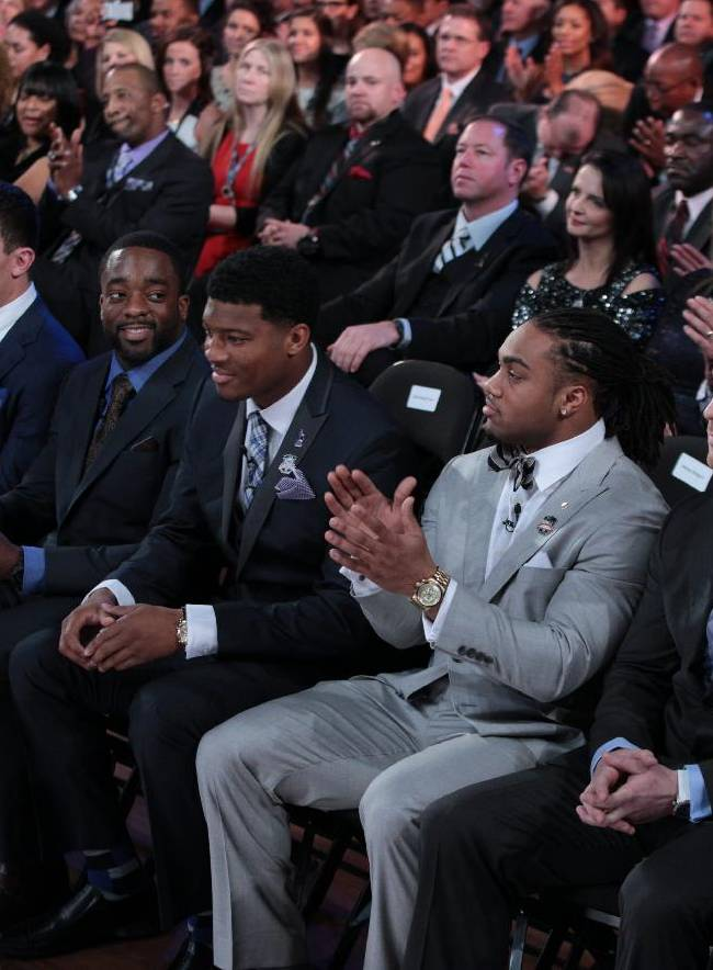 Johnny Football passes torch to Famous Jameis