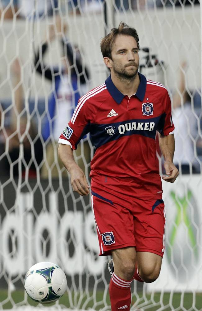 Chicago Fire's Mike Magee wins MLS MVP