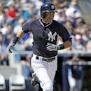 New York Yankees Ichiro Suzuki legs out a fifth-inning single in a spring training baseball game against the Tampa Bay Rays in Tampa, Fla., Sunday, March 9, 2014 The Associated Press