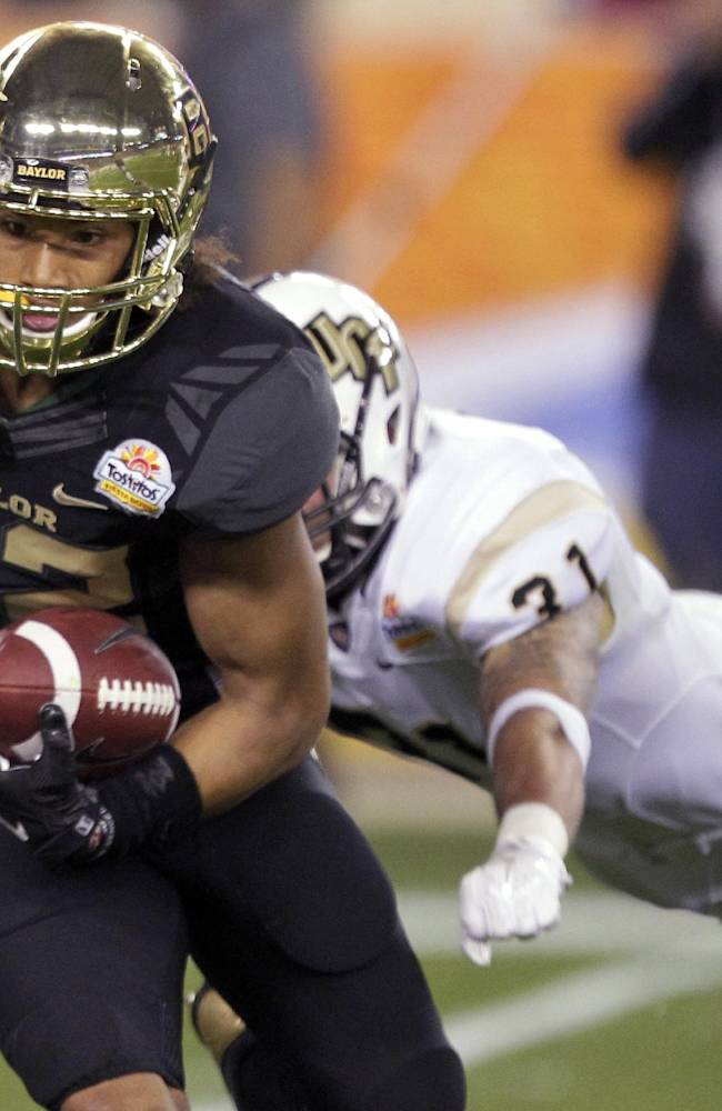 Knights knock off Bears 52-42 in Fiesta Bowl