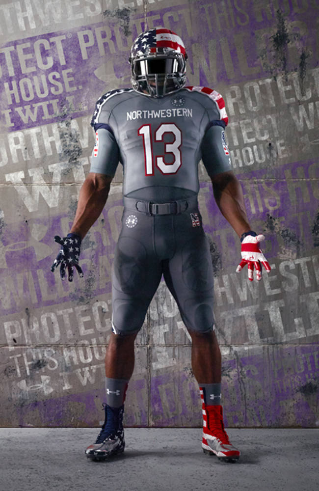 Military uniforms dotting college FB landscape
