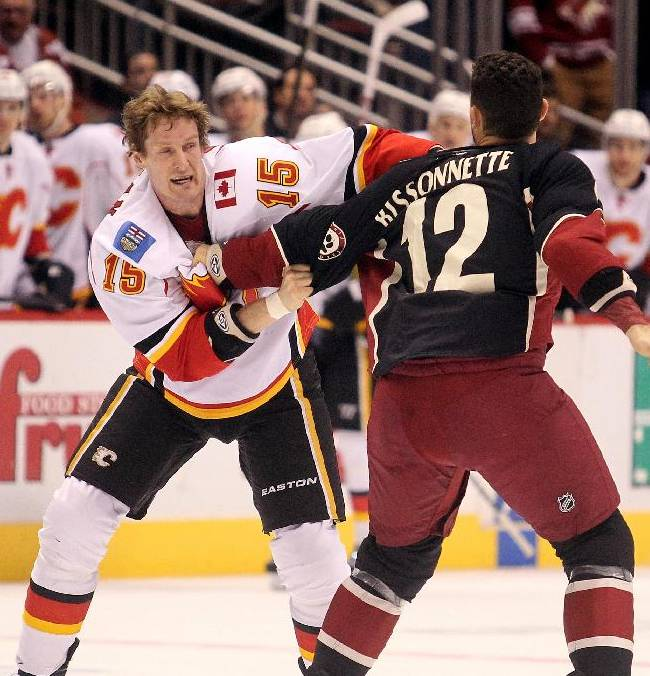 Coyotes' Bissonnette suspended 10 games for fight