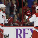 Eric Staal's goal, 2 assists lift Canes over Penguins, 5-2 The Associated Press