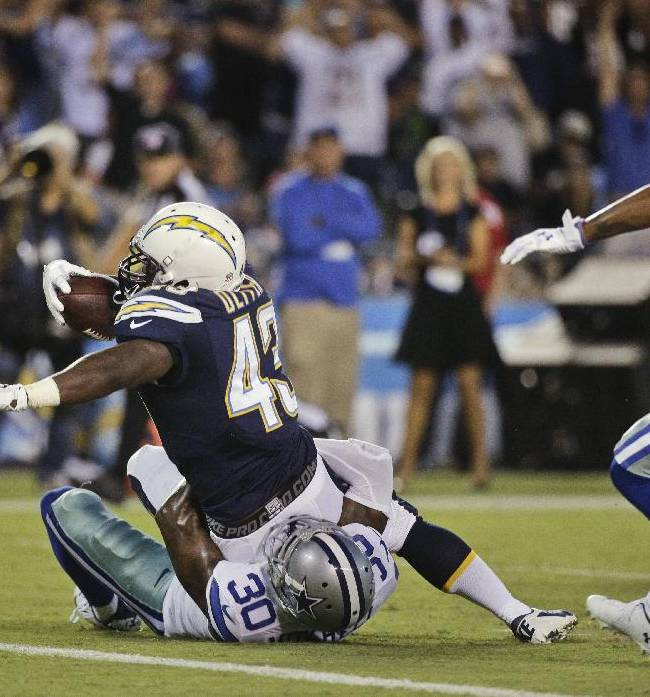 San Diego Chargers Cornerbacks: Photo Gallery