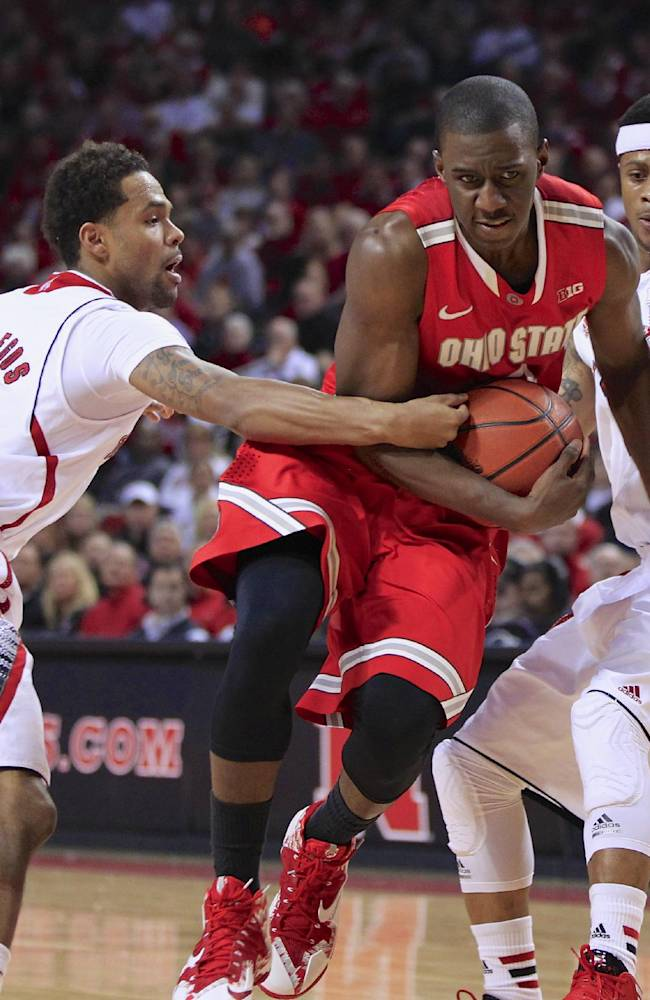 Nebraska upsets struggling No. 17 Ohio State 68-62