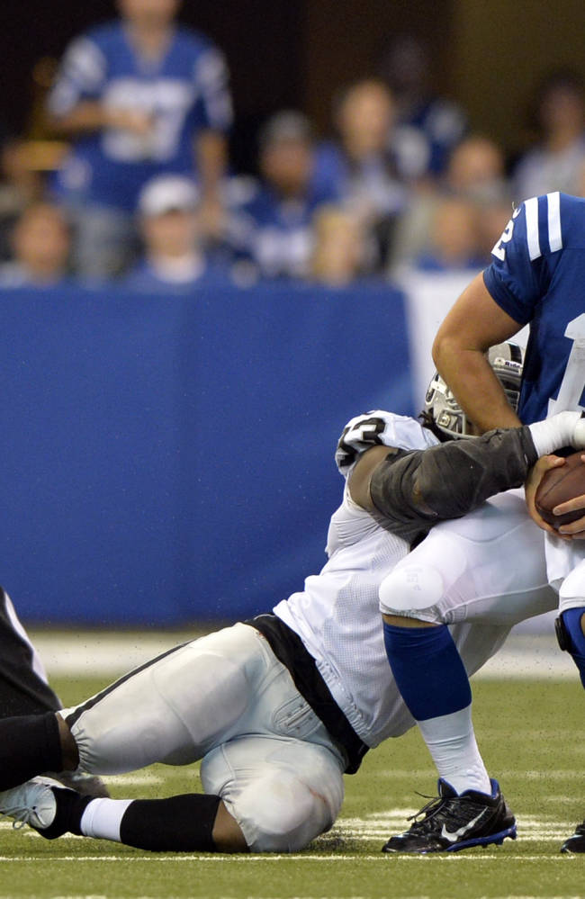 Indianapolis' owner unhappy with pass protection