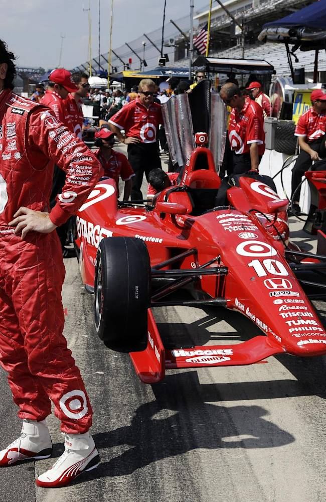 IndyCar star Franchitti retires month after crash