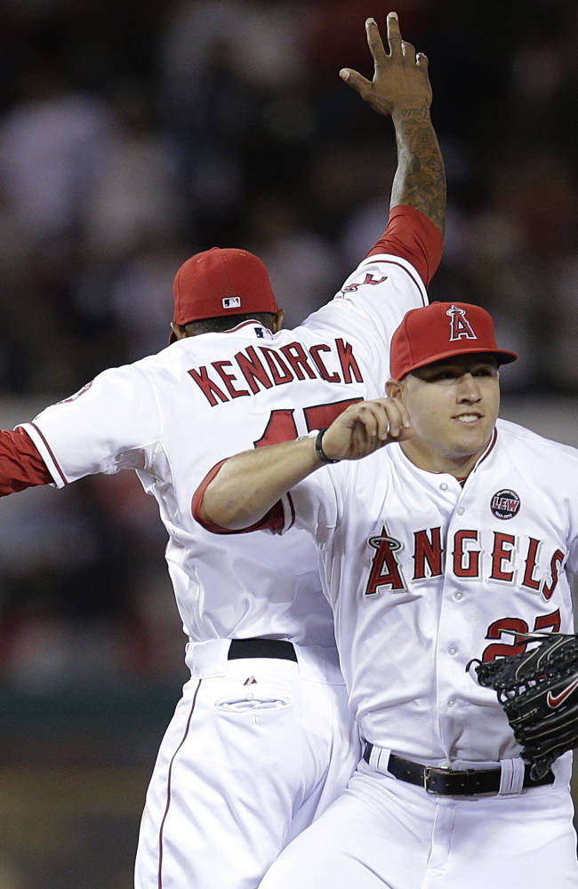 Wilson pitches Angels to 5-2 win over Yankees