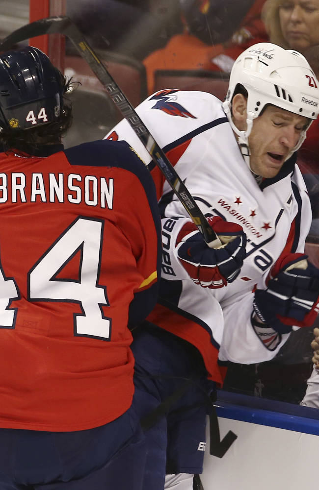 Ovechkin scores go-ahead goal for Capitals
