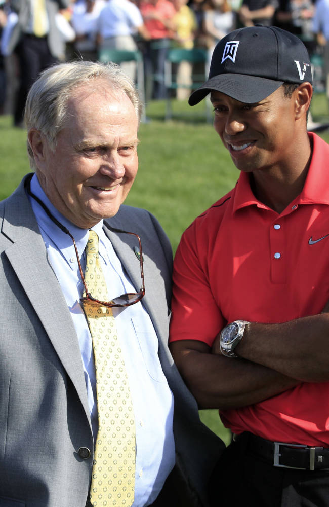 Nicklaus says Woods needs 'positive thing' to happen