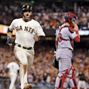 Giants beat Cardinals 6-4, move 1 win from Series The Associated Press