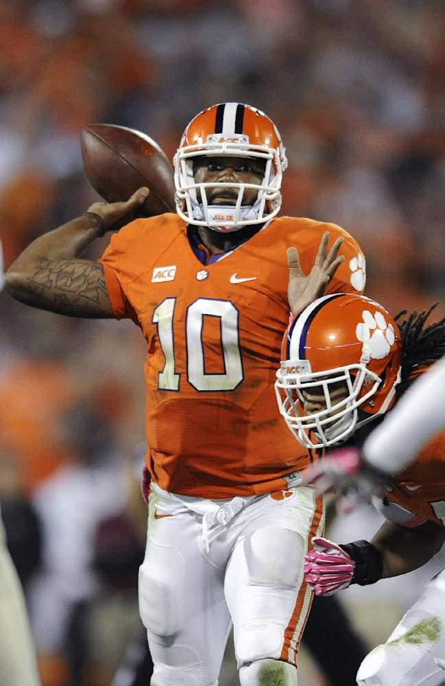 Coordinator: No. 9 Clemson's problems correctable