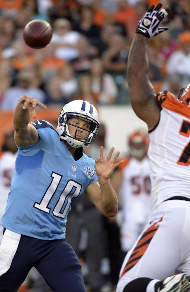 Dalton sharp in 27-19 win over off-target Titans