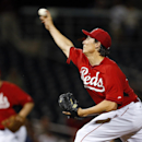 Cincinnati Reds pitcher Homer Bailey throws against the Los Angeles Dodgers in the first inning during an exhibition baseball game in Goodyear, Ariz., Wednesday, March 5, 2014 The Associated Press