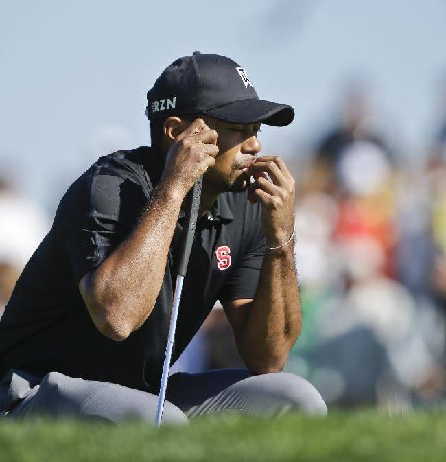 A bad day that Woods says was bound to happen