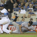 Giants get closer, beat Dodgers 5-2 in 13 innings The Associated Press