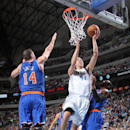 Chandler rules old team as Mavs top Knicks 109-102 The Associated Press