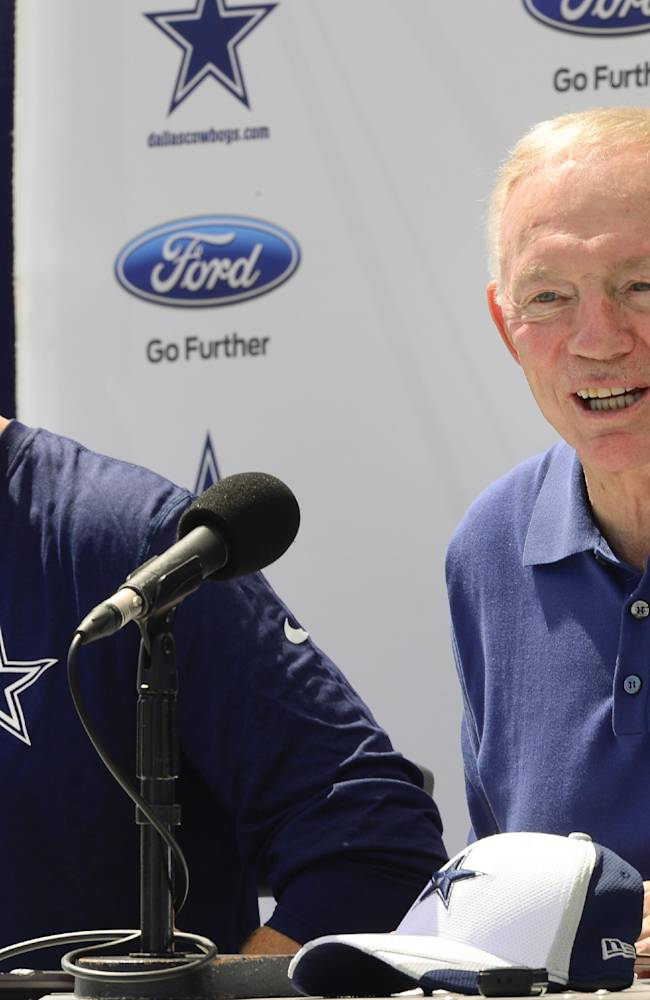 Jerry Jones: Garrett not coaching for job