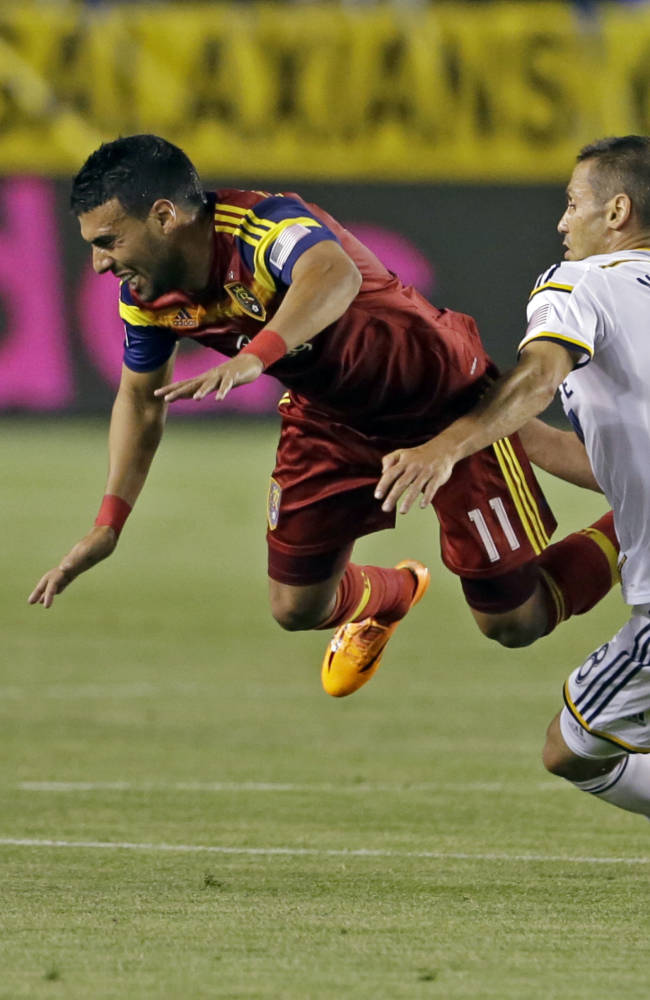 Plata lifts Real Salt Lake past Galaxy, 1-0