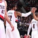 Blazers clinch playoff spot with 109-86 win over Phoenix The Associated Press