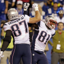 Patriots offense rolls in 42-20 blowout at Indy The Associated Press
