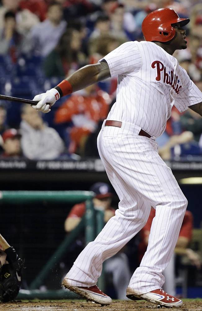 Lee, Michael Young lead Phils over Nationals