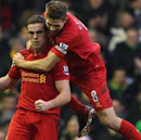 Gerrard urges Liverpool youngsters to 'become men'