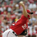 Strasburg loses playoff debut; Nats fall to Giants The Associated Press