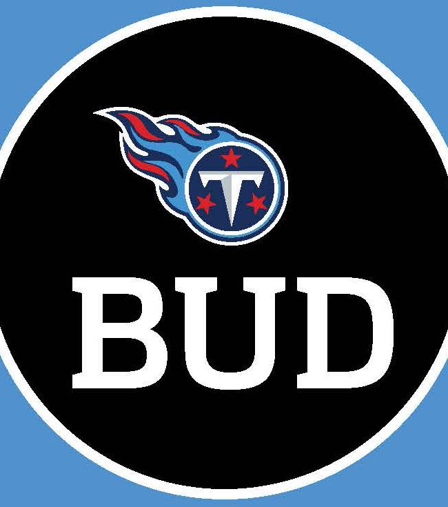 This graphic provided by the Tennessee Titans on Wednesday, Oct. 30, 2013, shows the patch Titans players will be wearing on their jerseys honoring their late owner Bud Adams starting this Sunday against the St. Louis Rams. Adams died Oct. 21 at the age of 90