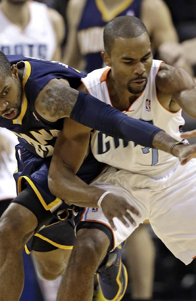 Watson's shooting lifts Pacers over Bobcats 99-74