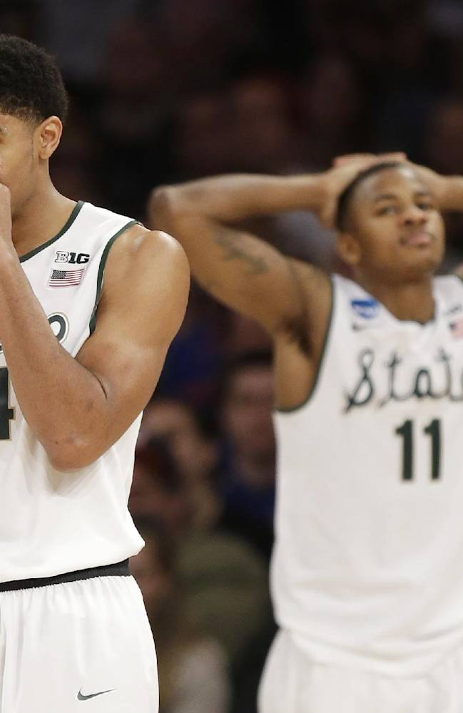 Mich State's Izzo might advise Harris to enter NBA