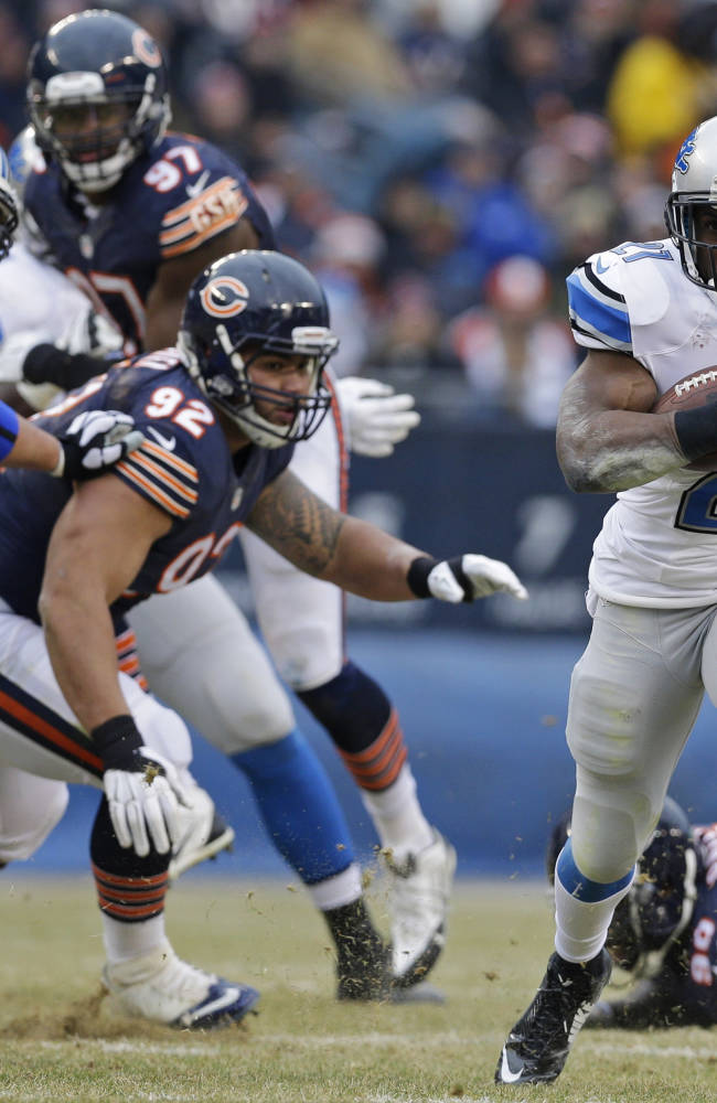 Stafford, Suh lead Lions over Bears 20-14