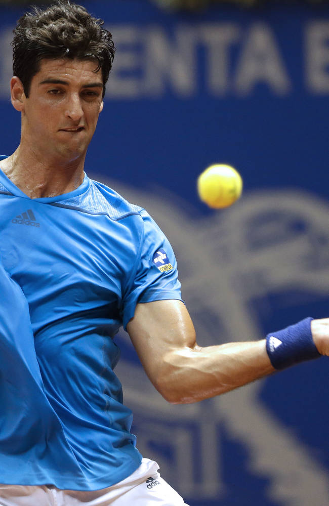 Thomaz Bellucci reaches 2nd round in Brazil Open