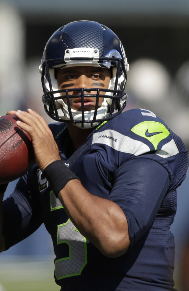 Russell Wilson writes against domestic violence
