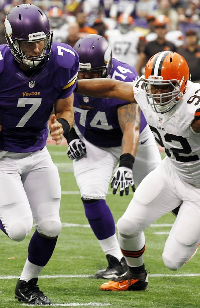 Browns' Bryant back after health scare