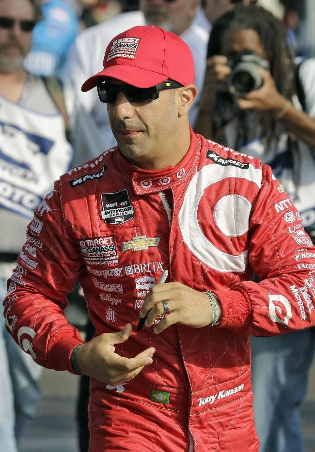 Kanaan prepares for debut in Franchitti's old ride